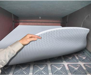 Das Aufstelldach Schlafdach ist sehr bequem gepolstert